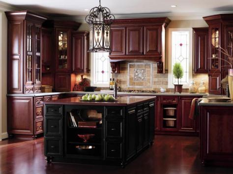Kitchen Design Ideas Cherry Cabinets exellent kitchen design ideas with cherry cabinets 79 more